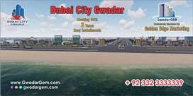 1C Industrial Plot In Dubai City Gwadar on 3 Years Easy Installment