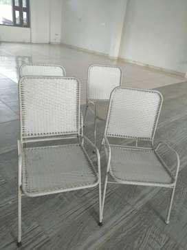 STEEL GARDEN CHAIR (8 Chair) per chair 499/-