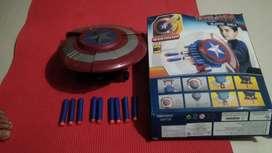 Avengers blaster shield gun, Captain America version