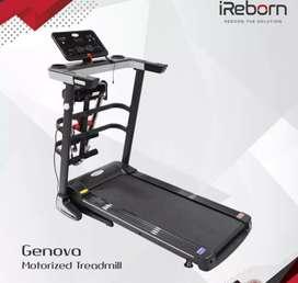 Alat Olahraga Treadmill Genova Terbaru /Alat Fitnes Dirumah