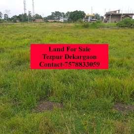 Tezpur Dekargaon Land for Sale 1.5 Kotha