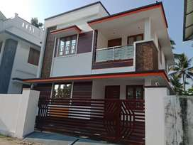 Ready to occupy 4 bhk 1260 sqft at edapally varapuzha near koonammav