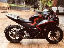 Honda cbr k45 150 r/ TT scrambler scorpion plat ab