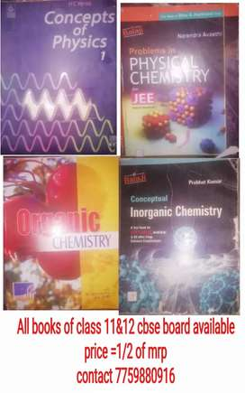 All Books of 11&12 cbse,IIT-JEE available