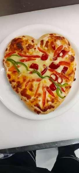 Cook/ Helper for Pizza, Pasta, Sandwich etc