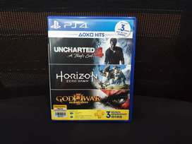 Jual Kaset / BD PS4 - Uncharted 4 + Horizon Zero Dawn bundle