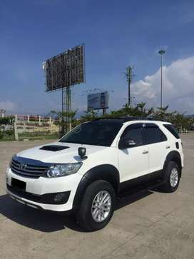 Dijual Fortuner G VNT Turbo manual solar