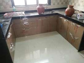Made to order Modula kitchen cabinet & platform in marine plywood