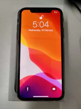 iPhone X 64GB Gray in sale mint condition
