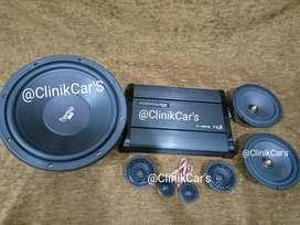 • Paket  Audio 3way + Pilar mobil