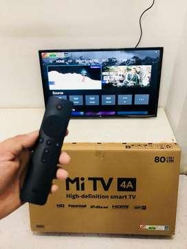 Mi Stock 32,43,55 Smart Tv with warranty