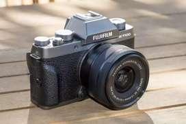Dijual Kamera Mirrorles Fujifilm XT100 masih mulus banget