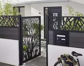Ahli dalam pasang pintu pagar besi minimalis berbagai macam tipe