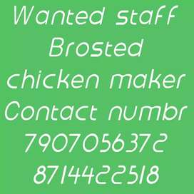 Wanted brosted chicken maker