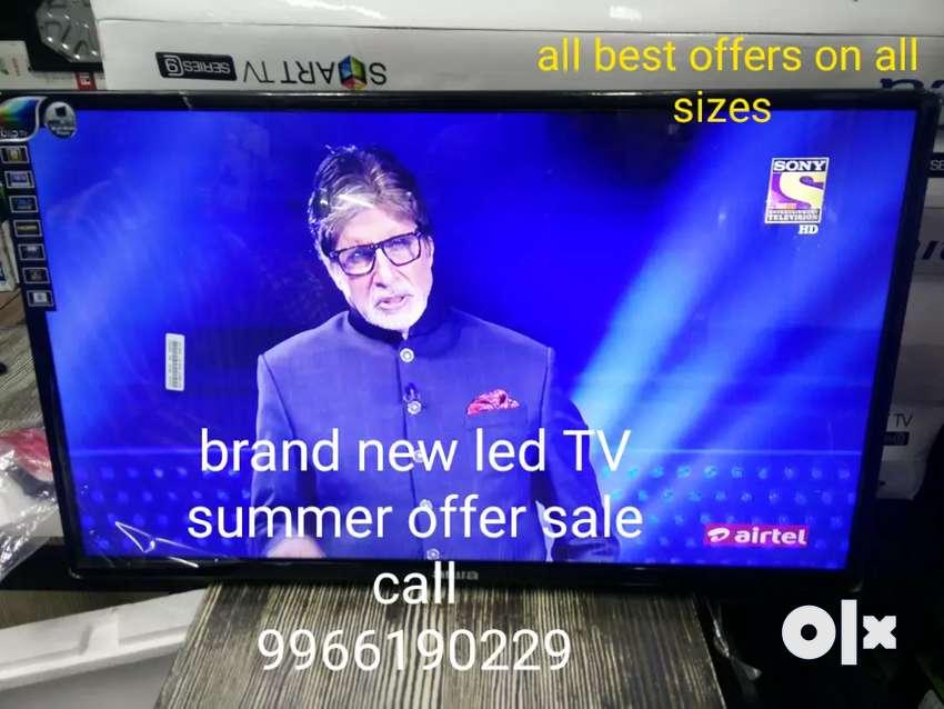 "32"" smart Samsung panel new led TV 4K low current consumption 0"
