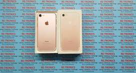 iPhone 7 32GB Storage Color Rose Gold With Box Good Condition