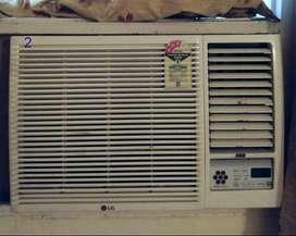 LG window AC, 1.5 ton, 3 star, with Stabilizer