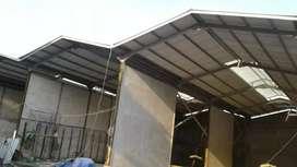 kami siap krjakan aneka pemasangn contruksi baja wf kanopi rumahn,ruko