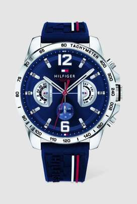 Tommy Hilfiger Decker Blue Silicon Strap Watch