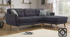 Simple and sover Deaign L shape sofa with 5 years of warranty