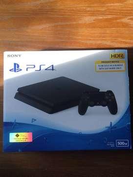 PS 4 Slim 500Gb (Pembelian 27 Feb 2019) Garansi 2021 (Pribadi)