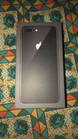 Urgent  sell i phone 8plus 64 gb,9mnths old new condition