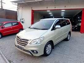 Innova G Diesel Matic th 2014 DP10jt (B)tgn1 Slvr Pajak Baru Juni2020