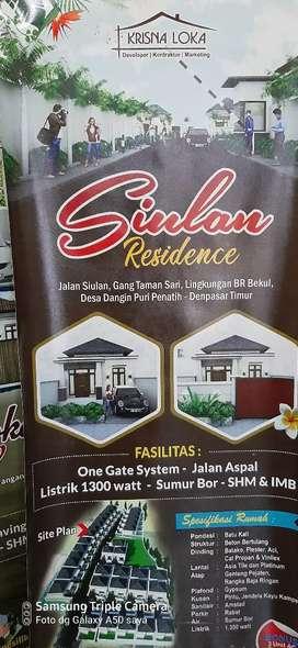 Rumah Paling Murah di Siulan Residence Dps Timur di bawah 600 jt