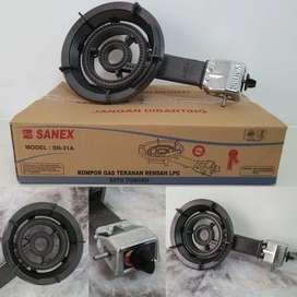 Kompor komersil sanex sn31 A-kompor resto 1 tungku tekanan rendah-kuat