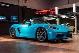 2016 Porsche Boxster S 718
