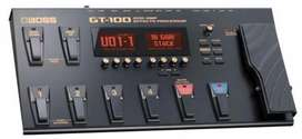 Boss GT100 electric guitar processor