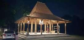 Jual Pendopo Rumah Joglo Kayu Jati ukiran Tumpangsari