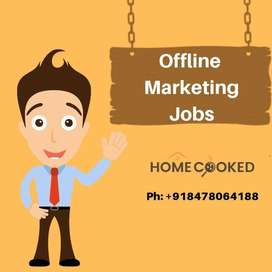 Urgent Vacancy For Male or Female Candidates for Offline Marketing