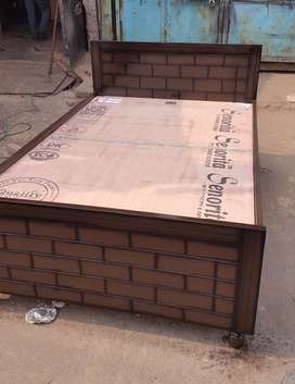 Brand new single bed 6 by 4fit with box n fully