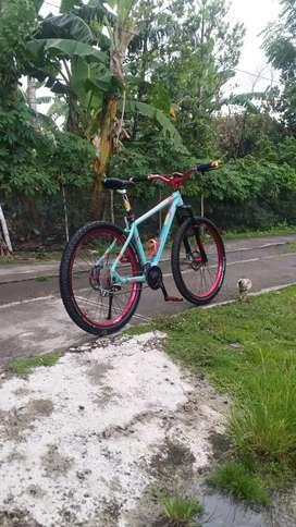 Sepeda rakitan speed 9 united