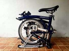 Sepeda Brompton M3R kondisi bagus murah