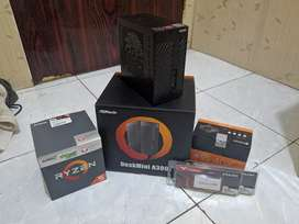 MINI PC GAMING ASROCK A300 RYZEN 5 2400G RAM 2X8GB 2666MHZ