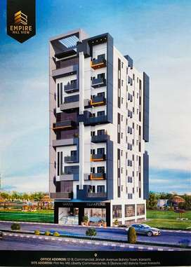 Luxury Duplex Appartments on installments in Bahria Town