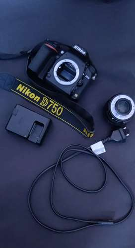 Nikon D750 Full Frame Fx For Sell Excellent Condition