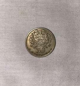 50 Centavos 1958 coin