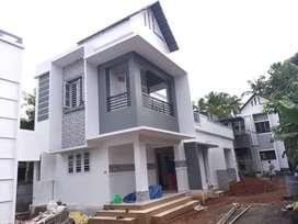 1300SqFt villa/ 4cent/ 3 bhk/ 48lakh/ KottekkadThrissur