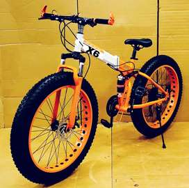FOLDABLE Fat Tyre Cycle New Sports Model 2020 21 Shimano Gears Hybrid