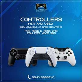 ps5,ps4 ,ps3 , Xbox one ,Xbox 360 controller