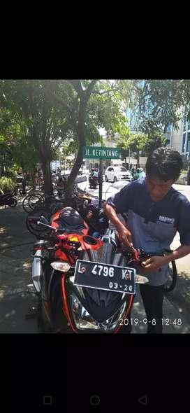 Bengkel senter T balancing cak Hasan Ketintang Surabaya