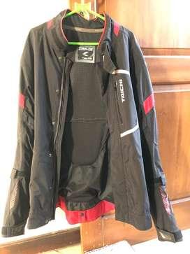 Jaket motor taichi