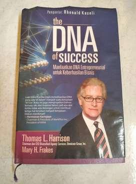 Buku Hard Cover 2nd THE DNA OF SUCCESS