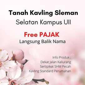 Free Pajak dan Notaris Kavling Kost 3Jt'an Pecah Unit Di Jalan Kaliura