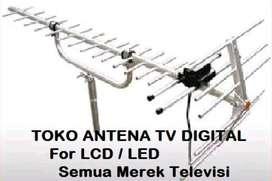 Toko Terdekat Pasang / Perbaikan Antena TV HD Jual dan Pasang