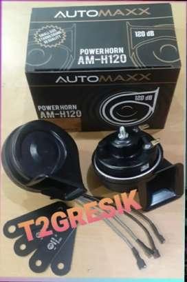 """""""T2GRESIK AUDIO MOBIL POWER HORN AM-H120DB MERK AUTOMAXX SUARA MANTUL"""