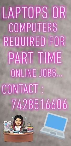 We need friendly or female candidates for part time home based jobs..